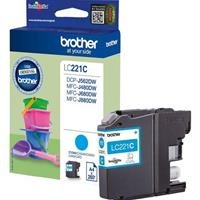 BROTHER CARTUCCIA LC221C CIANO ORIGINALE