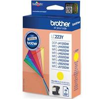 BROTHER CARTUCCIA LC223Y GIALLO ORIGINALE