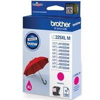 BROTHER CARTUCCIA LC225XLM MAGENTA ORIGINALE