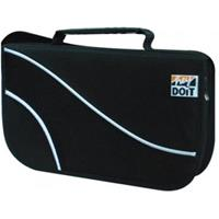 BORSA x CD/DVD a 48 POSTI - CD-Bag in tessuto