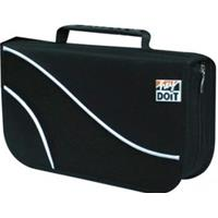 BORSA x CD/DVD a 96 POSTI - CD-Bag in tessuto