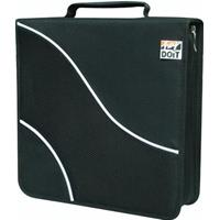 BORSA x CD/DVD a 200 POSTI - CD-Bag in tessuto