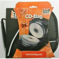 BORSA x CD/DVD a 24 POSTI - CD-Bag in tessuto