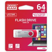 PEN DRIVE 64GB GOODRAM USB 3.0 UTS3 ROSSA