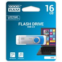 PEN DRIVE 16GB GoodRam USB 2.0 UTS2 BLUE SWIVEL