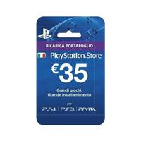 SONY PLAYSTATION PLUS CARD HANG 35 EURO