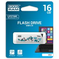PEN DRIVE 16GB GOODRAM USB 2.0 UCL2 BIANCA SLIDER 20R/5W