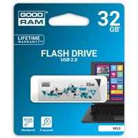 PEN DRIVE 32GB GOODRAM USB 2.0 UCL2 BIANCA SLIDER