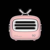 Mini altoparlante Bluetooth 4.2 vintage Rosa