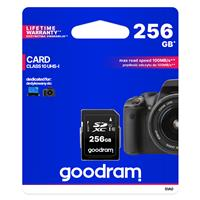 SECURE DIGITAL 256GB GOODRAM SDXC c10 UHS-I/U1 100R/10W