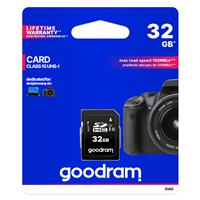 SECURE DIGITAL 32GB GOODRAM SDHC c10 UHS-I/U1 100R/10W